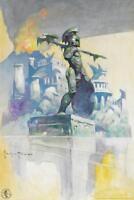 Atlantis by Frank Frazetta Art Print Mural inch Poster 36x54 inch