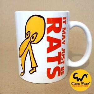 Vic Reeves & Bob Mortimer IT MAY JUST BE RATS MUG Coaster Coffee Gift comedy UK