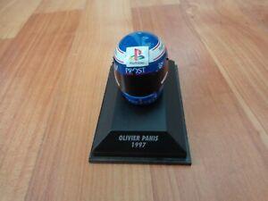 MINICHAMPS 1/8 CLASSIC OLIVIER PANIS 1997 PROST MUGEN F1 FORMULA 1 CRASH HELMET