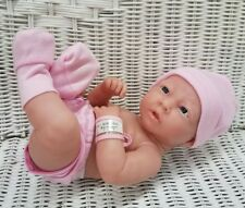 Berenguer La Newborn Baby Doll Realistic Girl w/pink outfit