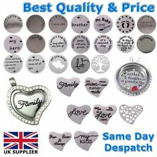Stainless Steel Letters, Numbers Words Costume Charms & Charm Bracelets