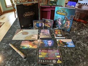 World of Warcraft Vanilla Collector's Edition Complete *USED KEY* Mint