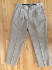 NWT!  Men's Dockers 38 Tan Pleated Chinos. Inseam 30. MSRP 34.99