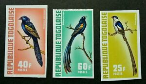 [SJ] Togo Birds 1972 Fauna (stamp) MNH *imperf