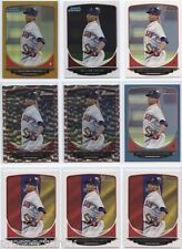 Lot of (100) William Cuevas 2013 Bowman Chrome RC Cards w/ Parallel - Red Sox SP