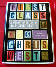 Chris West First Class History Of Britain In 36 Postage Stamps 8-Tape UNAB.Audio