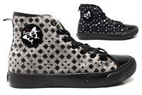 Fiorucci FDAD019 Nero e Grigio Sneakers Donna Polacchine Calzature Comode
