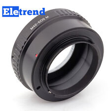 M42 Screw Mount Lens to Canon EOS M EF-M Adapter M6II M200 M6 M5 M50 M100 M3 M2