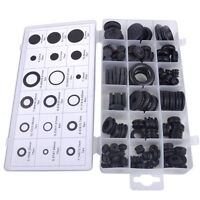 125ps Assortment Rubber Grommet Firewall Hole Plug Electrical Wire O Ring Gasket
