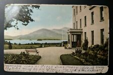 Vintage 1906 Royal Victoria Hotel Killarney to USA Real Picture Postcard Cover
