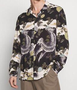 All Saints BNWT Descent LS Men's Shirt - Size XXL - Sold Out