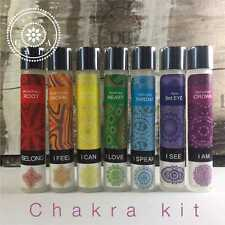 CHAKRA KIT 100% Pure Essential Oils BLENDS :)  7 BOTTLES IN TOTAL XOXOX