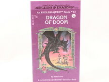 NEW!! Dragon of Doom Dungeons & Dragons Endless Quest by Rose Estes Book #13