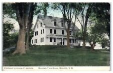 Early 1900s Mountain View House, Meredith, NH Postcard