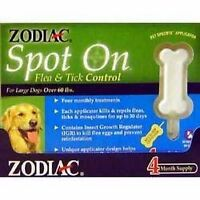 Zodiac Spot On Flea/Tick 3cc 4pack
