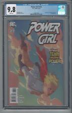 Power Girl #13 CGC 9.8 Amanda Conner Cover/Art DC Comics 8/10 Superman Batman