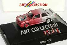 1:87 BMW M3 E30 Rouge argenté Airbrush Course - Collection D'Art - herpa 045049