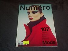 2009 OCTOBER NUMERO MAGAZINE - ENIKO MIHALIK FRONT COVER FASHION - O 7084