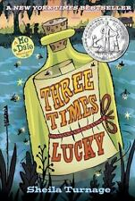 Three Times Lucky (Mo & Dale Mysteries) - Good - Turnage, Sheila - Hardcover