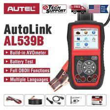 Autel AL539B OBD2 Car Code Reader Battery Circuit Test Diagnostic Scan Tool 12V