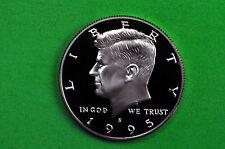 1995-S  SILVER Kennedy Half Dollar Deep Cameo US GEM Proof Coin (90% SILVER)