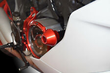 Ducati SUPERSPORT 939 / S 2017+ DUCABIKE FRAME CRASH PROTECTION ALLUMINIUM RED