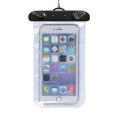 Universal Mobile Phone Waterproof Underwater Case Cover Bag Dry Pouch +Arm Strap