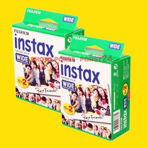 2 x FUJI Instax Wide Film für FUJI Instax 210 Kamera für 40 Aufnahmen :NEU: