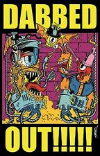 TROG - DABBED OUT - BLACKLIGHT POSTER - 24x36 - 1987