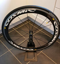 Mavic Cosmic Carbone SL Carbon front clincher wheel with new tire and tube