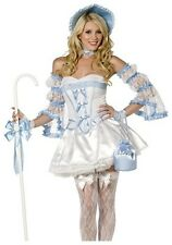 BRAND NEW Smiffy's SEXY DELUXE ADULT LITTLE BO PEEP COSTUME CORSET KIT One Size