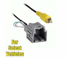 Wire RCA Plug Harness for Retaining Select GM Factory OEM Reverse Backup Camera