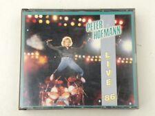 PETER HOFMANN - LIVE '86 - RARE BOX SET 2 CD - 1986 - OUT OF PRINT - CBS -