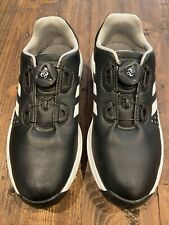 Adidas Golf Shoes Boa Size 3Y Black