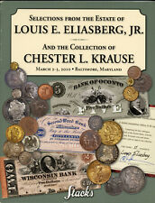 STACKS 2010 - L. Eliazberg & Chester Krause Collection Gold Silver Coins Auction
