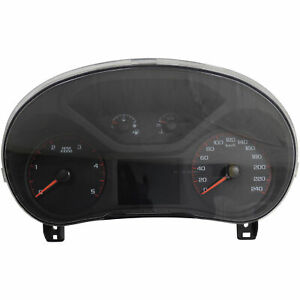 23505534 Instrument Cluster Speedometer KPH 2016 GMC Canyon 2.8L Diesel