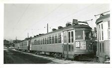 P793 RP 1950 MILWAUKEE ELECTRIC RAILWAY & TRANSPORT CO CAR #715