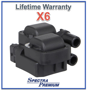 6 Ignition Coil For Chrysler Mercedes Benz REPLACES OEM # 0001587303