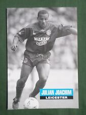 JULIAN JOACHIM- LEICESTER - 1 FULL PAGE PICTURE - CLIPPING/CUTTING