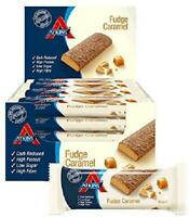 Atkins Chocolate Fudge Caramel, Low Carb, High Protein Snack Bar, 60 g, Pack of