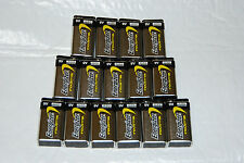 ENERGIZER INDUSTRAIL BATTERIES , Package of 12   9 Volt