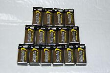 ENERGIZER INDUSTRAIL BATTERIES , Package of 12   9 Volt  Buy Now Bonus