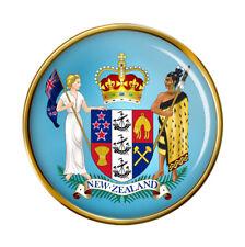 New Zealand Coat of Arms Pin Badge