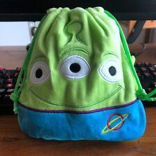 Disney toy story aliens handbag drawstring anime tote makeup bags phone holder