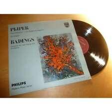 HERMAN KREBBERS / THEO OLOF pijper - badings - PHILIPS MODERN MUSIC Lp 1961