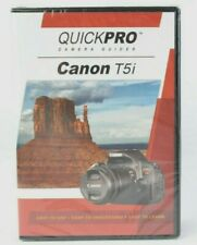 Canon T5i Camera Guide DVD QuickPro (82 min Tutorial DVD) Sealed #MAP-1796