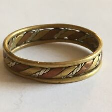 WW1  WW2 Trench Art Ring Copper Brass Tin Or Silver Rare Antique Find Jewellery