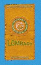 1910s S25 tobacco / cigarette / college silk Lombard College - Nice!