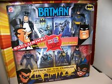 Batman The Animated Series Attack of The Penguin Mattel Justice League Unlimited