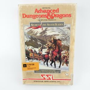 Advanced Dungeons & Dragons Secret of the Silver Blades | Commodore 64 128 | SSI